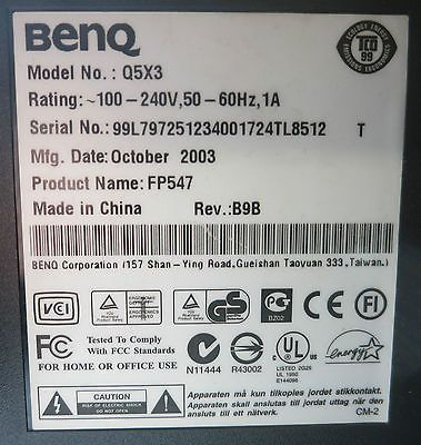 BENQ MONITOR FP547 WINDOWS 10 DRIVERS DOWNLOAD